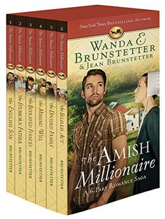 Read Book The Amish Millionaire Boxed Set Author Jean Brunstetter and Wanda E. I Love Books, Books To Read, Amish Books, Name Writing, Free Reading, Reading Books, Reading Lists, Romance Novels, The Ordinary