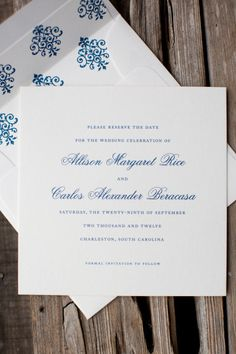 Invitations to a Southern soiree by http://www.oscaremma.com/ Photography by Gayle Brooker Photography / gaylebrooker.com