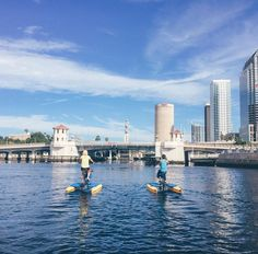 How would you like to experience the excitement of your city via water bike or water taxi? Hop on #EboatsTampa or #TampaWaterBikes, both under a mile away from us! #MyHarbourIsland #Lifeat500HI Photo credit: #thisjenngirl 500harbourisland.com