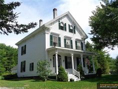 1843 Italianate - Cherryfield, ME - $155,000 - Old House Dreams