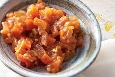 Unser beliebtes Rezept für Tomaten-Mandel-Chutney mit Möhren und mehr als 55.000 weitere kostenlose Rezepte auf LECKER.de.