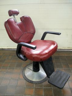 Barbers chair Antique auction