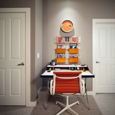50 Inspirational Workspaces. Simple home #offices infused with personality.