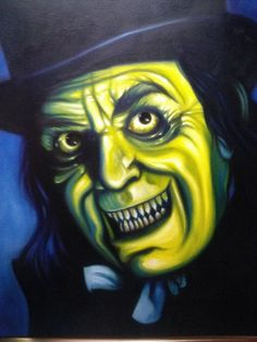 London After Midnight oil painting by Steven Bejma