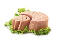 Baked tuna.