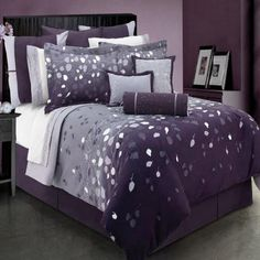 Dark Purple Bedding Sets Ftmurrbq