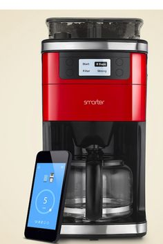 Make fresh coffee from your phone with the Smarter Coffee