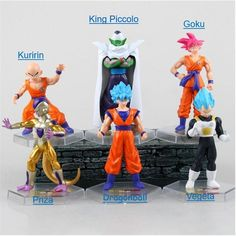6dfc08a6ad2 6 Dragon Ball Z Characters Action Figure Collectable Model Children Game  Hobbies  Chilovess Dragon Ball