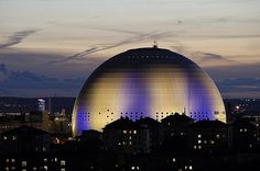 Ericsson Globe The Sports Palace in Stockholm is, in itself, unique, and the observation deck in the form of a glass ball that goes around the house on tracks is a blast! Even if it is the only entertainment in the Swedish capital, it's definitely worth the trip to go and experience the Ericsson Globe!