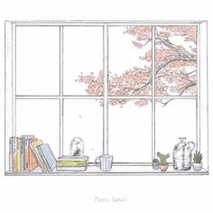 Japanese Artist Maori Sakai's Happy Little Moments GIF's