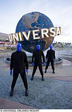 Blueman at Universal Studios Orlando!! Great Show!!