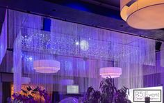 Stunning Crystal chandelier, custom made to dazzle over the dance floor! By Event Design Event Company, Bat Mitzvah, Corporate Events, Event Design, Avatar, Wedding Decorations, Chandelier, Floor, Ceiling Lights