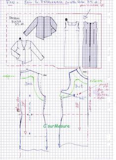 Faq : robe 8511, patronnage pour Vivianne VE.