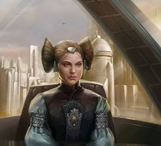 Star Wars Destiny - Padme Amidala by Paolo Puggioni Star Wars Padme, Amidala Star Wars, Star Wars Zeichnungen, Anakin And Padme, Star Wars Canon, Star Wars Drawings, Galactic Republic, Star Wars Pictures, Star Wars Art