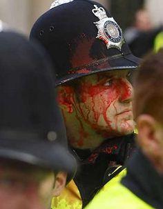 London, 2011 - G20 riot