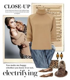 """""""Close Up & Electrifying"""" by conch-lady ❤ liked on Polyvore featuring BP., Andy Warhol, Clare V., J.Crew, STELLA McCARTNEY, George & Laurel and J.W. Anderson"""