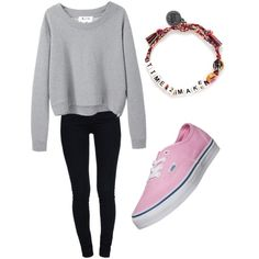 Untitled #29 by jessie35124 on Polyvore featuring polyvore, fashion, style, Acne Studios, STELLA McCARTNEY, Vans and Venessa Arizaga