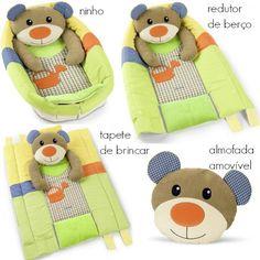 O ninho/redutor de berço da marca alemã Sterntaler é um must have! Vai-se transformando conforme for preciso e pode ser um ninho, um redutor de berço ou um tapete de brincar à medida que o seu bebê for crescendo e precisando de mais espaço para as brincadeiras. Muito suave e confortável.