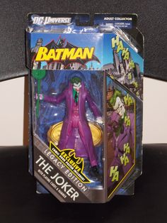 DC Universe Batman The Joker Figure Legacy Edition New In The Package