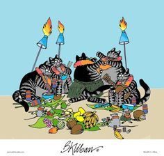 Kliban's Cats Comic Strip, September 24, 2013 on GoComics.com