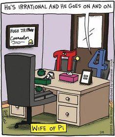 A little math humor for the day.I hate math but this is funny haha Math Memes, Science Jokes, Math Humor, Teacher Humor, Funny Memes, Math Puns, Math Teacher, Teaching Math, Classroom Humor