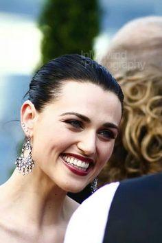 Katie McGrath. She has the cutest smile.