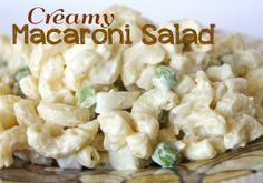Macaroni Salad Recipe its a wonderful recipe. you have a very good luck as we have for you a very easy to make and ultimately delicious macaroni salad.