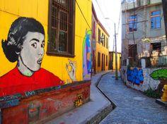 Scenes from Chile: Santiago and Valparaiso's Street Art | CN Traveler, May 13, 2013. Photo: Valparaiso, #Chile, street art