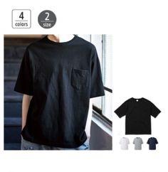 5.6オンス ビッグシルエット Tシャツ (ポケット付き)が安い通販業者です。