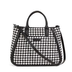 Vera Bradley Womens Trapeze Tote Midnight Houndstooth Tote -- Learn more by visiting the image link.