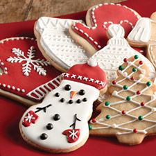 Simple Cookie Glaze - dries hard and shiny, and is perfect for coating the top of your cookies in preparation for decorating with food-safe pens or markers.