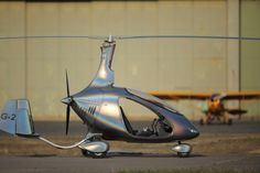 Cavalon gyroplane with the doors removed.