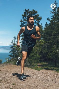 b43539ccb12 Take it all in stride in technical run gear for men.  WorkoutClothing  Running Shorts