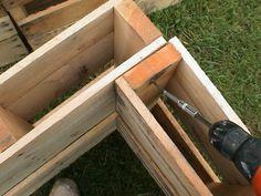 Easy Wood Shed - Clarifying Practical Advice For Garden Shed Plan - Bored Munkey Pallet Shed Plans, Shed Plans 8x10, 10x12 Shed Plans, Free Shed Plans, Pallet Building, Shed Building Plans, Building Ideas, Building Design, Wood Storage Sheds
