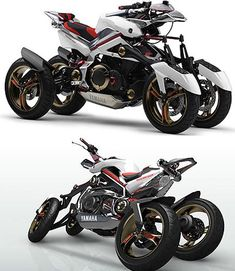 Mind-Blowing Motorcycles from the Future