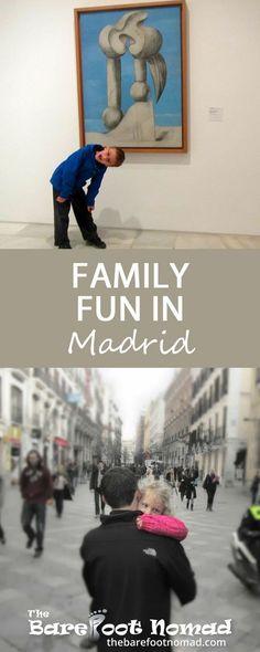 Fun Family activities in Madrid Spain