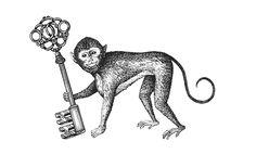 """SLS Hotel"" logo identity at Beverly Hills by Steven Noble, via Behance Monkey Tattoos, Stencils Online, Theme Tattoo, Hotel Logo, Monkey Business, Blogger Themes, Logo Branding, Logos, To My Daughter"