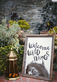 Where the Wild Things Are inspired party deco! Baby Shower Fun, from Langley's Wild One via Andrea Patricia Photography #partydeco #wyliewestcreative