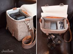 camera bag and packaging