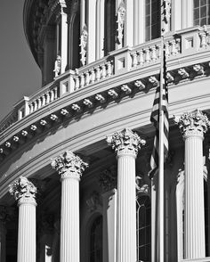 Capitol Rotunda Black and White Fine Art by SolsticePhoto on Etsy