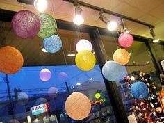 Colourful ballon for