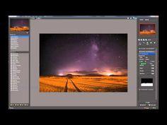 Post-processing astropphotos