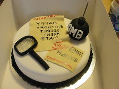 Secret Agent Spy cake :0) by Ange's Cakes (Peterborough), via Flickr