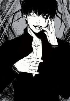 Kaneki Ken, dark hair, ghoul; Tokyo Ghoul