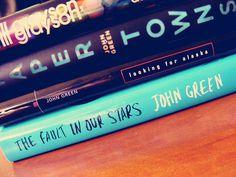 Some of my favorite John Green books