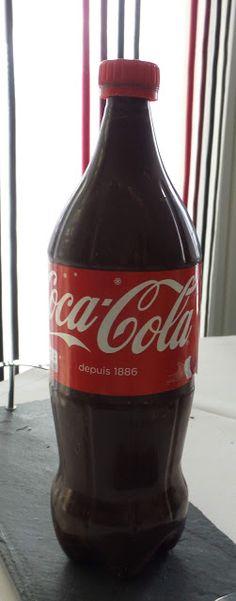 Mes créations pâtissières: Bouteille de Coca-Cola