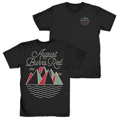 August Burns Red - Waves Shirt (Black)