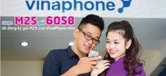 Hướng dẫn đăng ký gói cước M25 Vinaphone