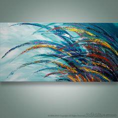 Resumen arte de la pared cuchillo de paleta de pintura por Catalin