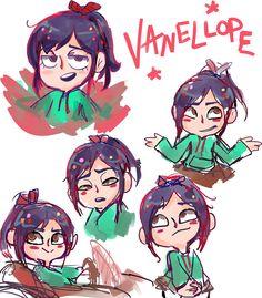 Vanellope von Schweetz by mallowboo.deviantart.com
